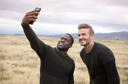 David Beckham in Kevin Hart
