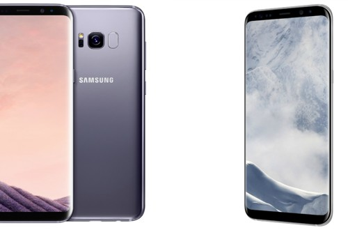 Samsung Galaxy S8 in S8+