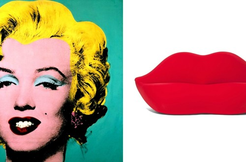 Interier -  Pop art