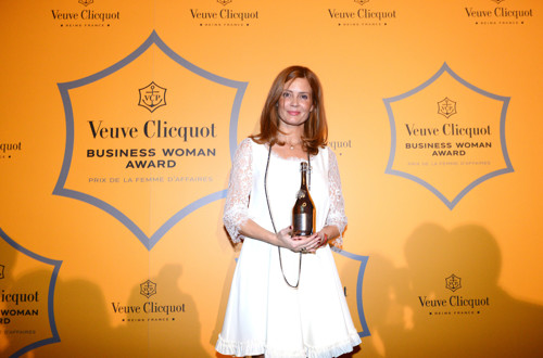 Veuve Clicquot Business Woman Award za Urško Šefman Sojer