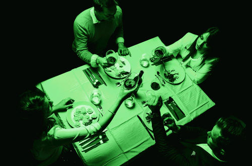Foto: Dinner In The Dark